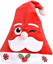 ZGYQGOO Christmas Hat for Kids Novelty Hats