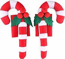 ZGYQGOO Christmas Refrigerator Armrest Cover