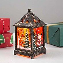 ZGYQGOO Decorative Xmas Baubles Lantern Ornaments