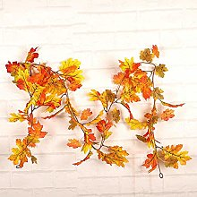 ZGYQGOO Thanksgiving Decor Halloween Wreath Front