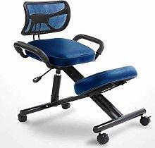 ZHAN YI SHOP Faux Leather Office Kneeling Chair,