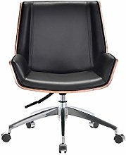 ZHAN YI SHOP Office Desk Chair With Cipri Leather