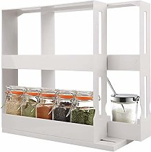ZHANG Newly Upgraded Rotating Spice Rack,