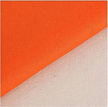 ZHANGAIZHEN Canvas Fabric Solid Color Thicken Old