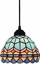 ZHANGDA Tiffany Style Pendant Light Mini