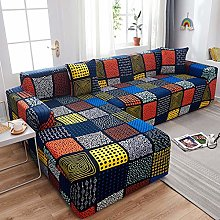 ZhangHai L Shaped Sofa Cover Stretch Sectional