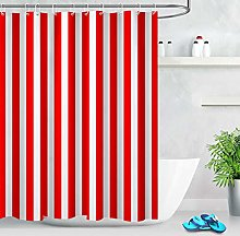 zhanghui2018 Red White Stripes Pattern Fabric Mold
