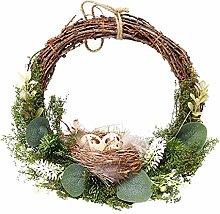 ZHANGKAIXUAN Eggs Easter Decoration Easter Wreath