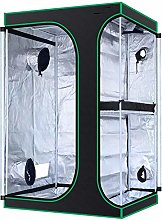 ZHANGLE 2-In-1 Grow Tent with Observation Window,