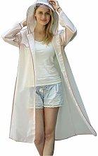 ZHANGLIXIA666-Tablecloth Raincoat, Transparent