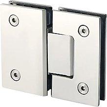 ZHANGM Heavy Duty 180 Degree Glass Door Cabinet