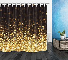 zhangqiuping88 Abstract Golden Particles Shower