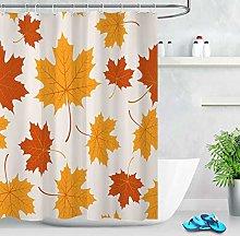 zhangqiuping88 Autumn Maple Leaves Shower Curtain