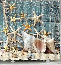 zhangqiuping88 Fish net and starfish shower