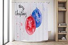 zhangqiuping88 Red blue beautiful christmas ball