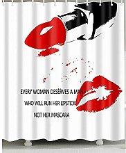 zhangqiuping88 Red lips and lipstick shower