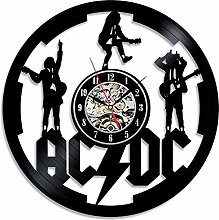 ZhangXF AC DC Vinyl Record Wall Clock,12 inches