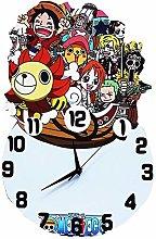 ZhangXF One Piece Pirate Ship Wall Clock, 16-Inch
