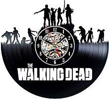 ZhangXF Walking Dead Theme Vinyl Record Wall