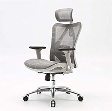 ZHANGYY Executive Office Chair with Headrest and