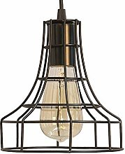 ZHANGYY Light Fixtures Vintage Metal Cage Pendant