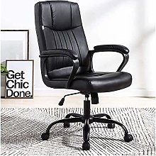 ZHANGYY Office chair,Computer Office Leather