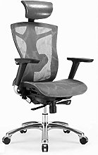 ZHANGYY Office Chair with Headrest and Adjustable