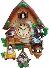 ZHANGZHIYUA Cuckoo Clock Quartz Wall Clock