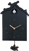 ZHANGZHIYUA Cuckoo Quartz Wall Clock Modern Bird