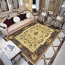 ZHAO carpets for living room Retro yellow flower