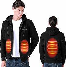 ZHAO Men Heated Jacket USB Heating Vest Outdoor