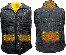 ZHAO Outdoor Heated Vest USB 4 Areas Infrared