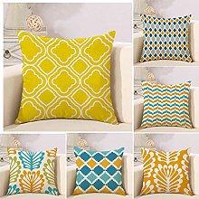 ZHAOCC Cushion Cover Pillowcase Sofa Pillowcase 6