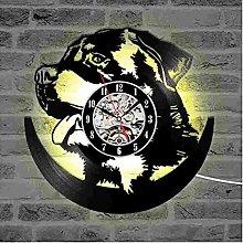 ZhaoCJB Vinyl Record LED Wall Clock Design