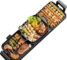 ZHAOH Grill 2200W Electric BBQ Grill Smokeless