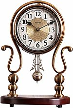 ZhaoLiRuShop Desk Clock Table Clock Shelf Clock