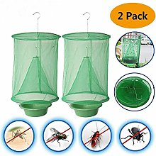 ZHAOXX 2Pcs The Ranch Fly Trap Outdoor Fly Trap
