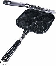 ZHAOZC Double-Sided Frying Pan,Omelette Pan, 4-Cup