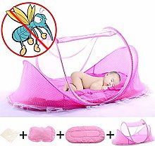 ZHaoZC Folding Baby Crib Tent, Lightweight Travel