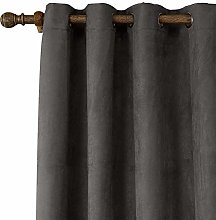 zhbotaolang Velvet Soft Curtains Thermal Insulated