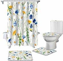 ZHEBEI Bathroom waterproof shower curtain base