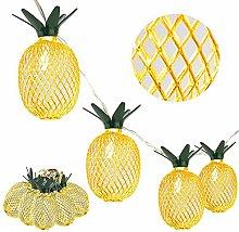 ZHEBEI Pineapple string lights garden decoration