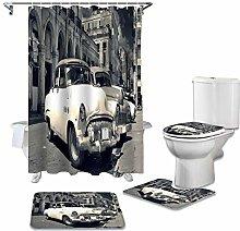 ZHEBEI Toilet seat cover set toilet accessories