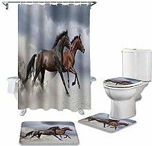 ZHEBEI Waterproof shower curtain harness seat