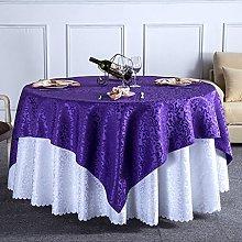 ZHEN GUO Jacquard Fabric Table Linen Tablecloth,