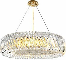 ZHENAO 60 * 60 * 22Cm Crystal Chandelier Led Lamp