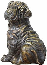 ZHENAO Artworkbronze Dog Statue, Dog Sculpture