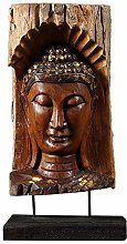 ZHENAO Artworkbuddha Head Sculpture, Buddha Bust
