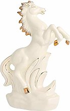ZHENAO Artworkdecorative Horse Statue, Ceramic