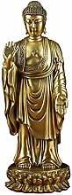 ZHENAO Artworkthai Buddha Sculpture, Bronze Statue